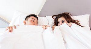 זוג במיטה